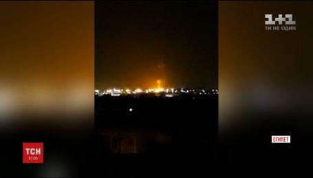 Возле аэродрома в Каире произошел взрыв