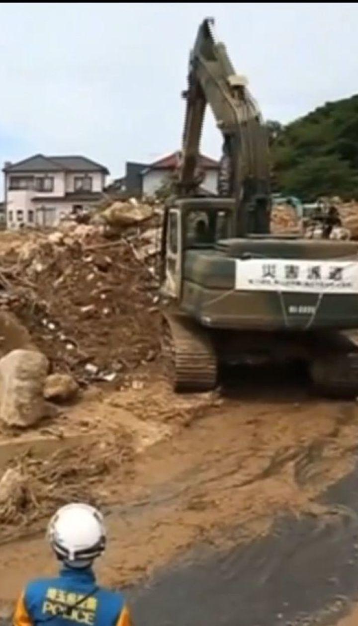 В Японії зростає кількість жертв масштабної повені