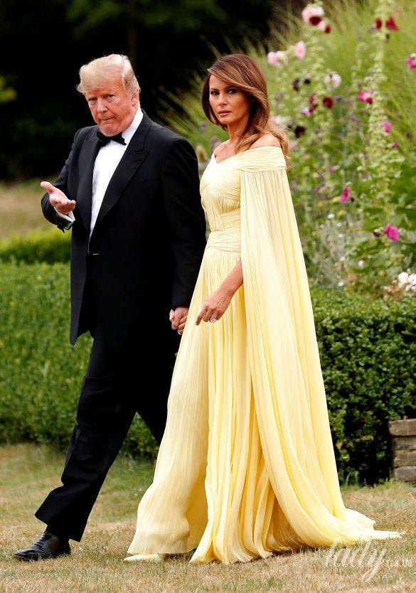 Мелания Трамп и Дональд Трамп_3