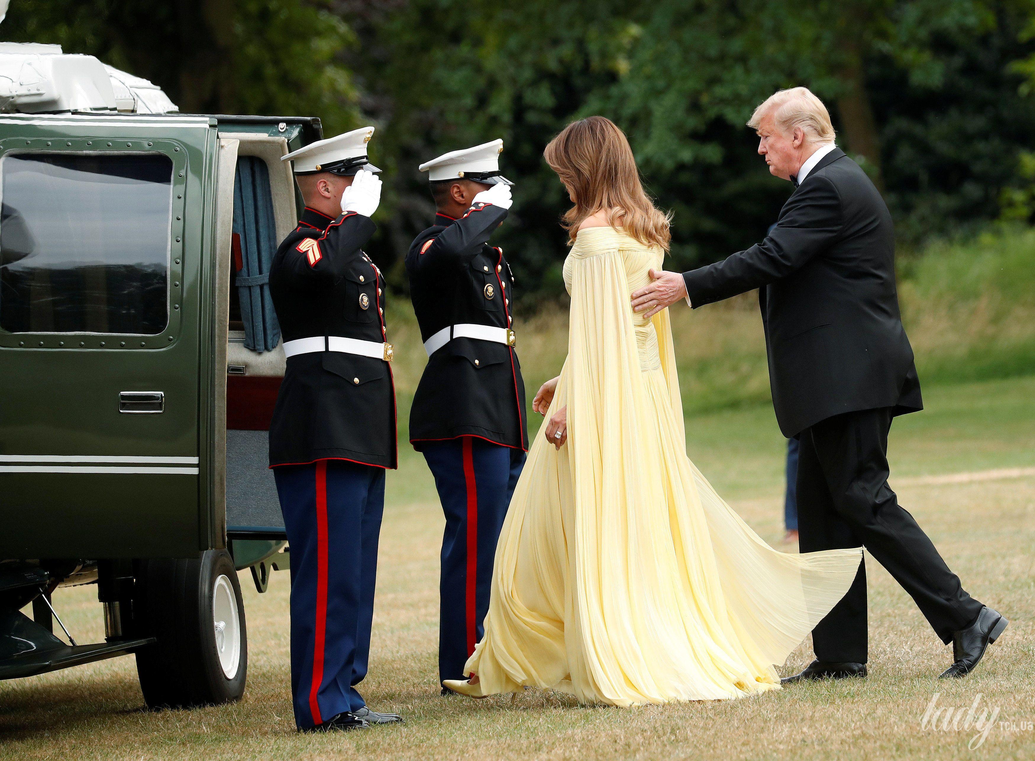 Мелания Трамп и Дональд Трамп_7