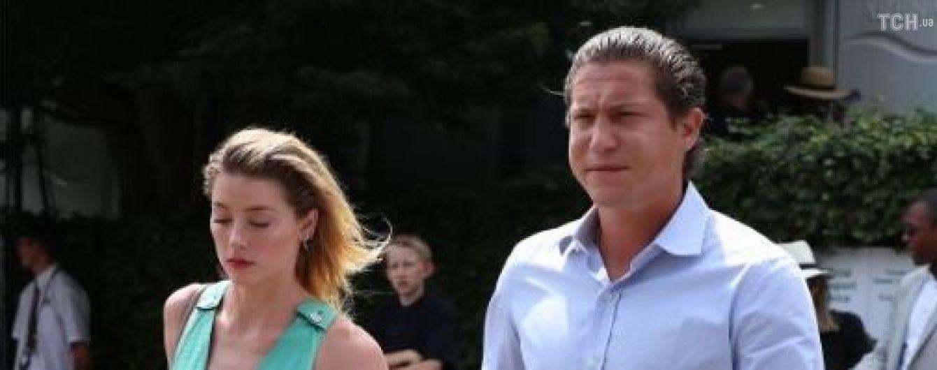 Ембер Херд та колишній Гайді Клум ніжно обіймалися на Вімбілдоні