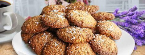 Воздушное кокосовое печенье