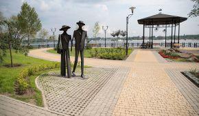 У Києві відкрили парк із спортивними зонами та оглядовим майданчиком на Дніпро