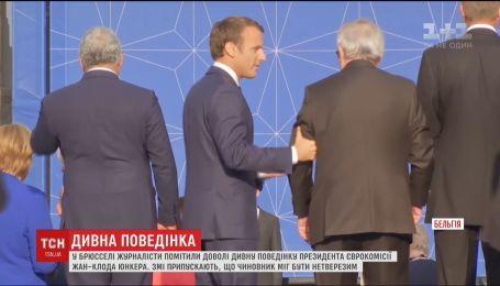 У Брюсселі журналісти помітили дивну поведінку президента Єврокомісії