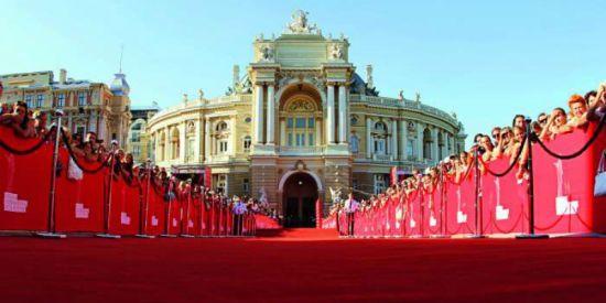 В Одессе торжественно стартовал международный кинофестиваль