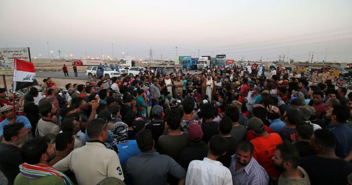 Антиурядові протести на півдні Іраку @ Reuters