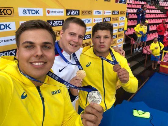 Одразу двоє українських легкоатлетів з особистими рекордами зійшли на п'єдестал Чемпіонату світу