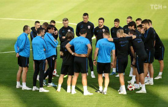 П'ятеро лідерів збірної Хорватії пропустили тренування перед фіналом ЧС-2018