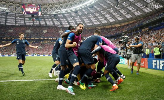 Франція у надрезультативному матчі перемогла Хорватію та вдруге в історії стала Чемпіоном світу