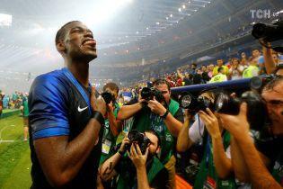 В Сети появилось видео, как Погба мотивировал сборную Франции выиграть финал Чемпионата мира