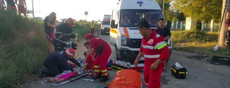 В Румынии водитель подшофе въехал в туристов: есть раненые