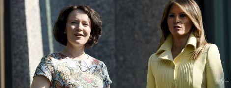 Цікавий збіг: перші леді США і Фінляндії вдягли вбрання з метеликами