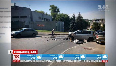 Наиболее частые причины дорожно-транспортных происшествий в Украине
