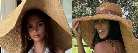 Битва капелюхів: Емілі Ратаковскі vs Кортні Кардашян