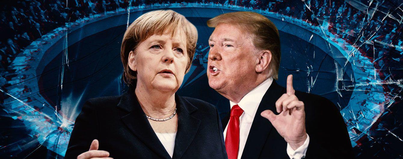 Трамп против Меркель: бои без правил