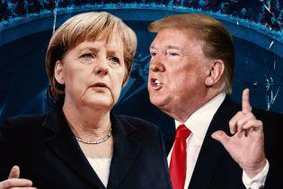 Трамп проти Меркель: бої без правил