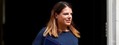 Міністр імміграції Великої Британії Керолайн Ноукс у короткій сукні прийшла на роботу