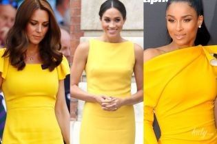 Битва желтых платьев: Сиара vs герцогини Кембриджская и Сассекская