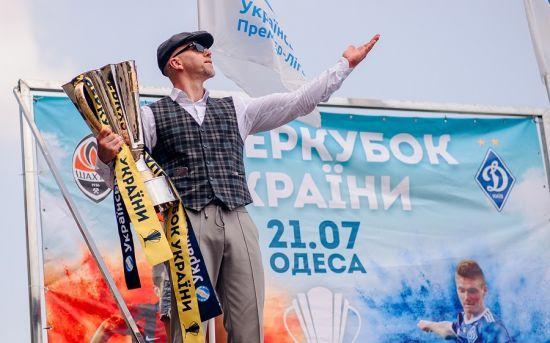 Співак Серьога став послом української футбольної Прем'єр-ліги