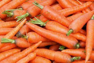 В Украине резко подешевела морковь