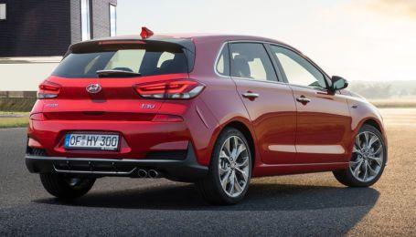 Хэтчбек Hyundai стилизовали под спортивную модель