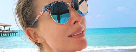 В стильных очках на пляже: Катя Осадчая поделилась снимком с отдыха