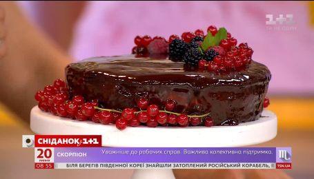 Як приготувати дзеркальну глазур для торта - рецепт від Валентини Хамайко