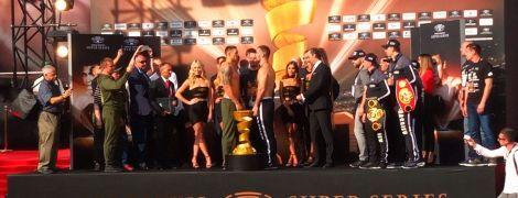 Усик и Гассиев прошли процедуру взвешивания перед финалом WBSS