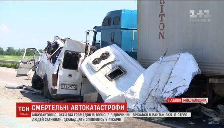 Пятнадцать человек погибли в автокатастрофах на Житомирщине и Николаевщине
