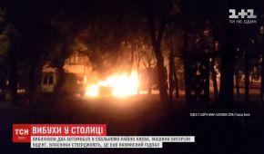 """""""Якби я підозрював когось, я б тут не стояв"""": власник спалених вранці у Києві машин переконаний у підпалі"""