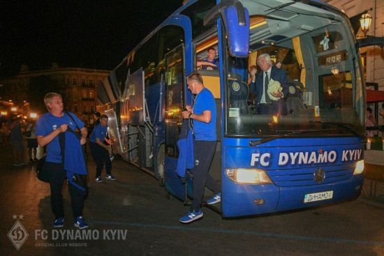 """Динамо"" прибуло до Одеси на матч за Суперкубок України"