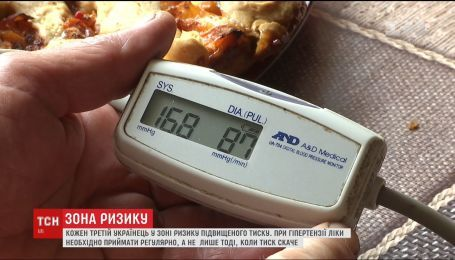 Зона риска. Треть украинцев имеют склонность к сердечно-сосудистым заболеваниям