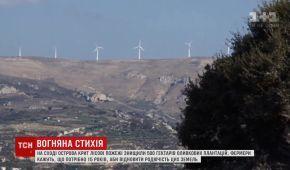 На віднову сільського господарства Криту після пожежі знадобиться 15 років