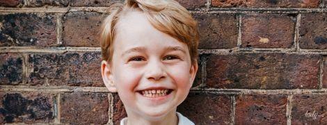 Принцу Джорджу 5 років: Кенсінгтонський палац опублікував нове фото до іменин старшого сина Кембриджів