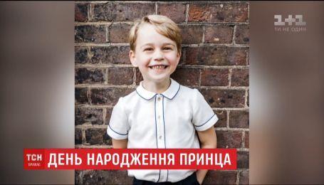 В Британии празднуют 5-летие принца Джорджа