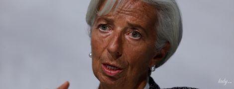В твидовом костюме и с жемчужными украшениями: деловой образ главы Международного валютного фонда
