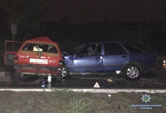 У Запоріжжі у смертельній ДТП загинули двоє людей, 5 травмовані