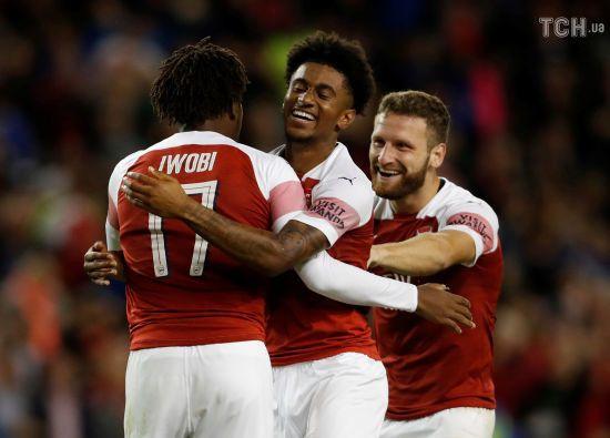 """""""Арсенал"""" став сильнішим у лондонському дербі у матчі Міжнародного кубка чемпіонів"""