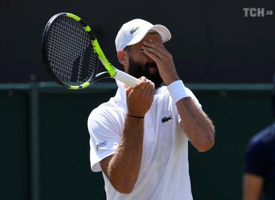 Французький тенісист мало не знищив корт після невдалого розіграшу
