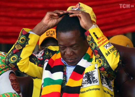 У Зімбабве оголосили попередні результати виборів президента