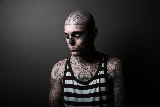 Відомий манекенник Zombie Boy покінчив з життям самогубством