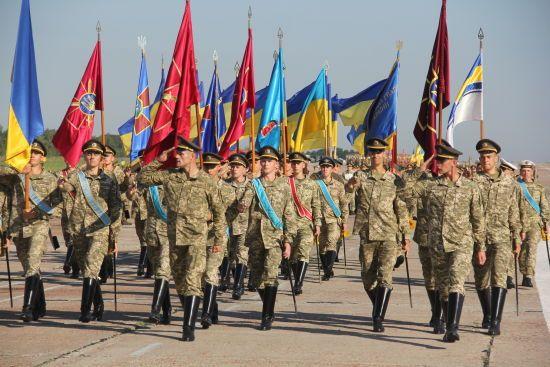 Міноборони повідомило про те, як проходитиме військовий парад на День Незалежності