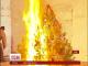 Кияни відзначили Новий рік із пожежами