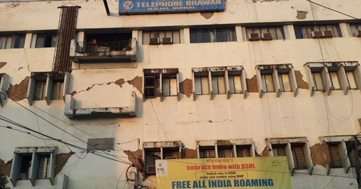 На північному сході Індії стався землетрус манітудою 6,8 балів.