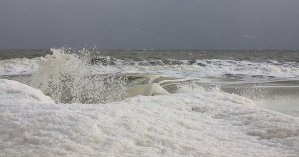 Азовське море вкрилося кригою @ 061.ua