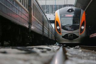 """Через сильні морози від початку року """"замерзли"""" вже два швидкісні поїзди """"Інтерсіті+"""""""