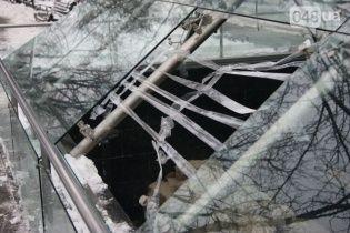 """В Одессе неизвестные разбили купол """"музея под открытым небом"""""""