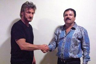 Актер Шон Пенн сделал секретное интервью с мексиканским наркобароном-беглецом