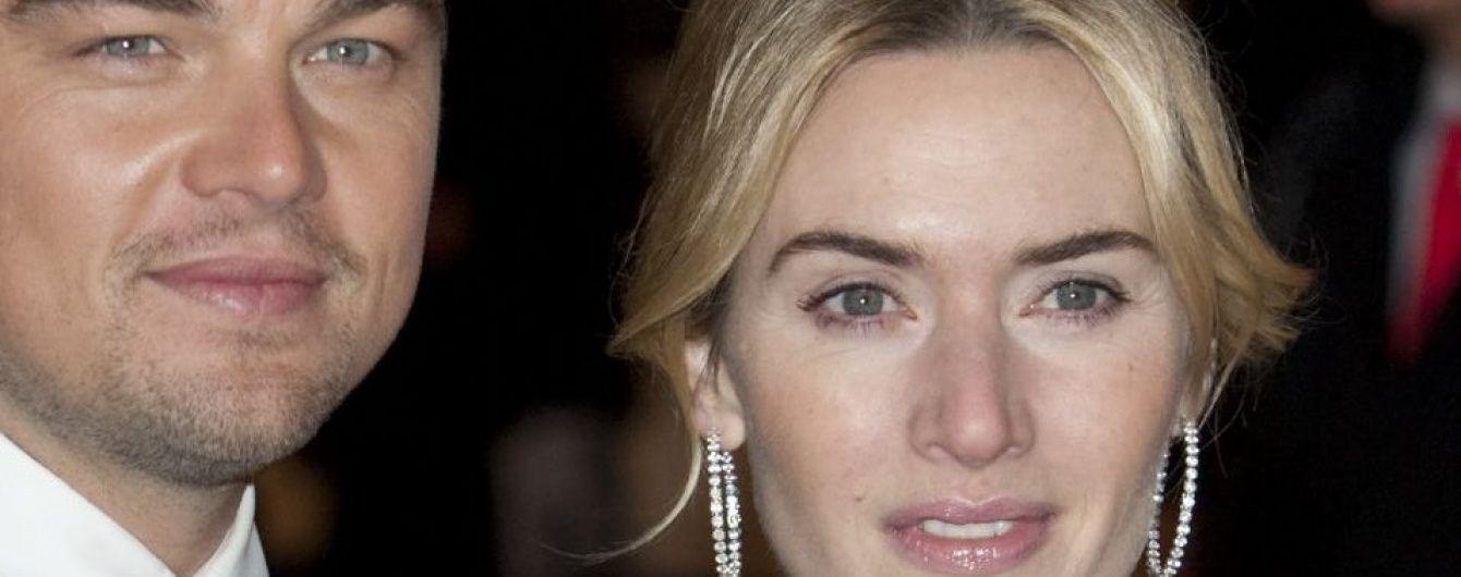 Поклонников растрогали нежные объятия Леонардо Ди Каприо и Кейт Уинслет