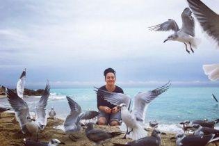 Астаф'єву та її подругу ледь не заклювали чайки у Маямі